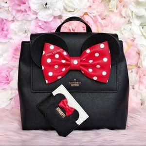 Kate Spade Disney Minnie Mouse Backpack Cardholder